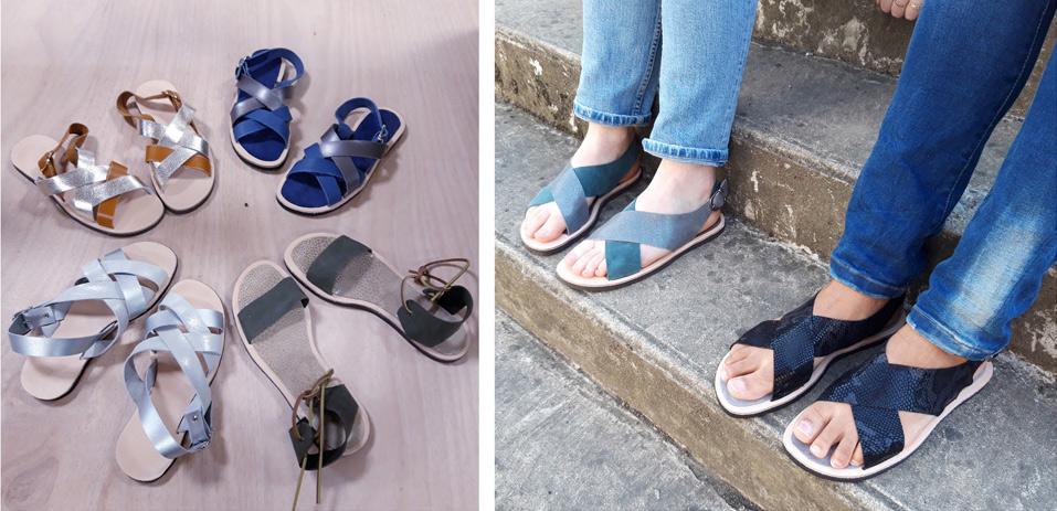 ateliers sandales